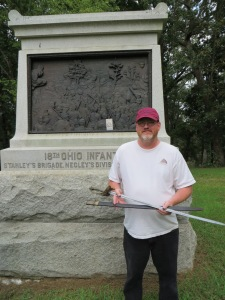The sword returns to Horseshoe Ridge